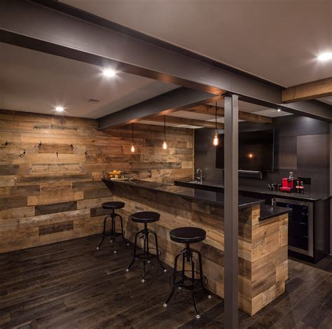 Basement Bar Furniture by Delightful Basement Bar Ideas Rustic Home Bar Rustic With