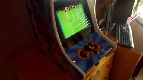 Mame Cabinato Mini Cabinato Arcade Mame Videgames Sala Giochi Anni 80