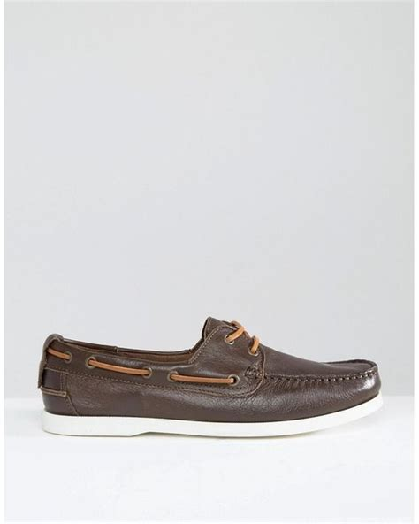 Aldo Boat Shoes by Aldo Ldo Damasus Boat Shoes In Brown For Lyst