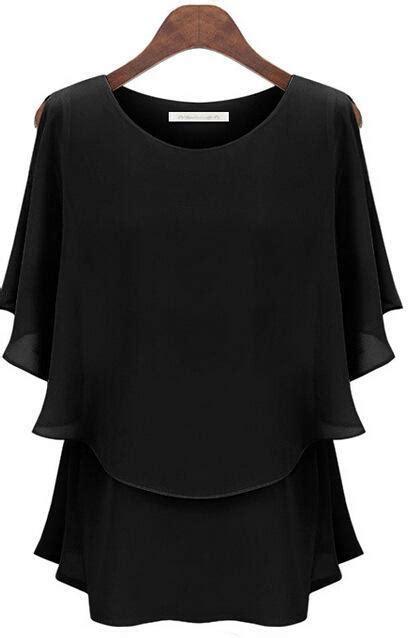 plus size formal tops blouses 2017 wear shirt chiffon tops