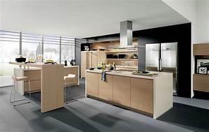 Cuisine Moderne Design : cuisine design sans poign es en bois ~ Preciouscoupons.com Idées de Décoration