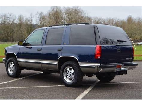 1998 Chevrolet Tahoe by 1998 Chevrolet Tahoe Partsopen