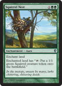 Squirrel Nest Mtg Deck squirrel nest from conspiracy spoiler