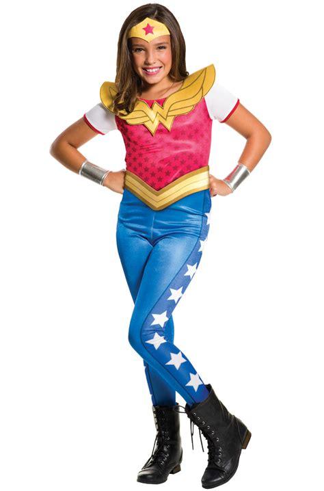 dc super hero girls  woman child costume