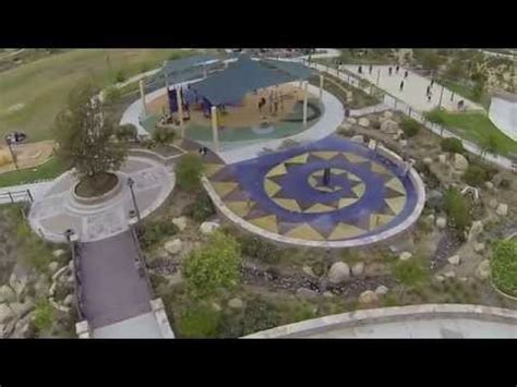 fpv quadcopter footage  sunset park san marcos ca turbo ace  youtube