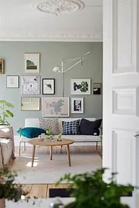Wandfarbe Für Wohnzimmer : wohnidee wohnzimmer richten sie ihr wohnzimmer in gr n ein wohnzimmer inspiration ~ One.caynefoto.club Haus und Dekorationen