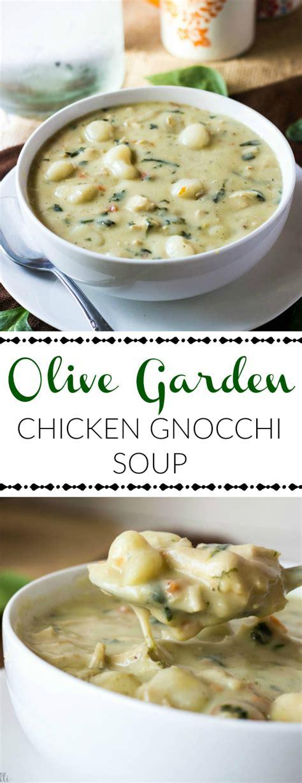 chicken gnocchi soup olive garden olive garden chicken gnocchi soup the olive