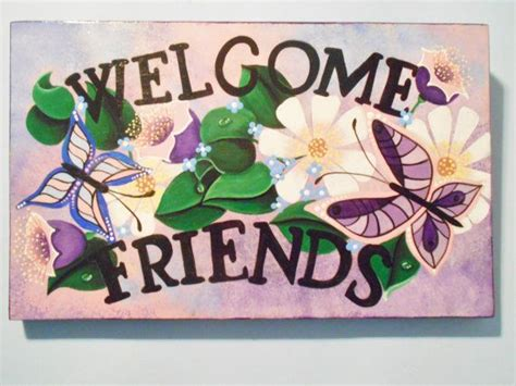 images  hand painted wood plaques signs
