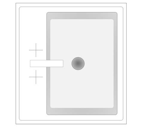 bathroom vector stencils library