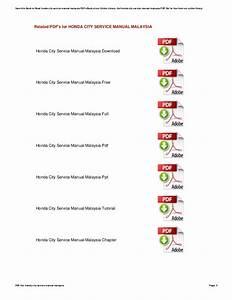 Honda Civic 2014 Service Manual Pdf