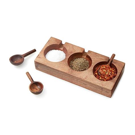 spice serving set  spoons handmade hostess gifts