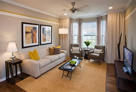 Yellow Living Room Design Ideas by Gray And Yellow Living Rooms Photos Ideas And Inspirations