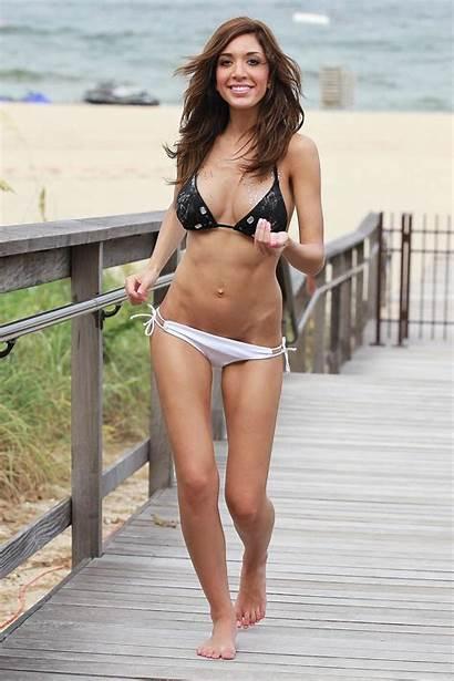 Farrah Bikini Abraham Beach Lauderdale Fort Celebrities