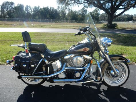 Heritage Softail Classic, Evo, Exhaust, Driver Backrest