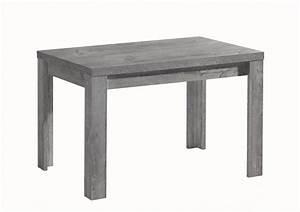 Küchentisch 120 X 80 : esstisch ausziehtisch k chentisch 120x80cm beton optik ~ Markanthonyermac.com Haus und Dekorationen