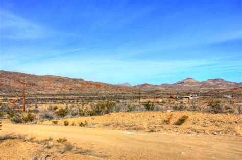desert landscape  big bend national park texas image