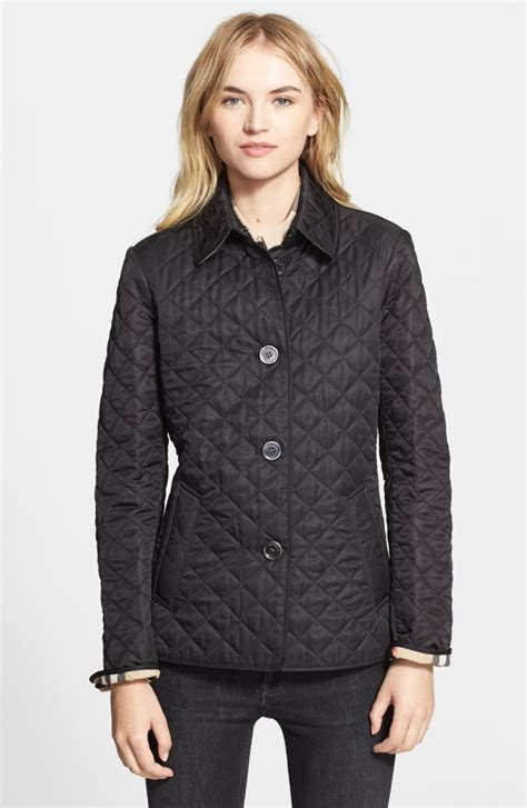 burberry quilted jacket burberry brit copford quilted jacket nordstrom