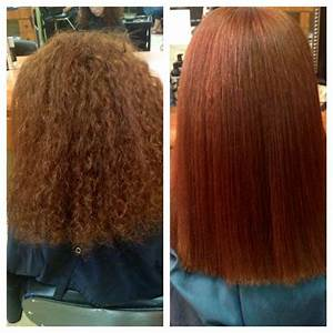 Before And After Chi Permanent Straightening Hair