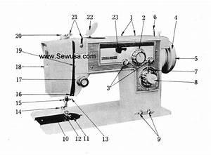 Dressmaker 2400 Instruction Manual