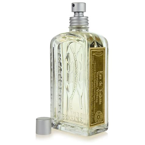 l occitane verveine eau de toilette for 100 ml notino co uk