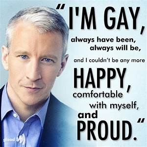Is anderson cooper gay