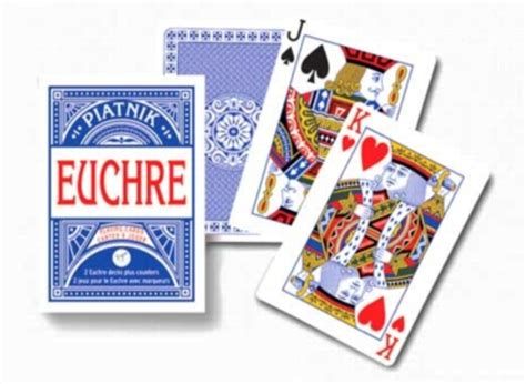 euchre strategy euchre playing cards