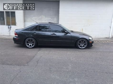 2001 lexus is300 mb wheels battle tein coilovers