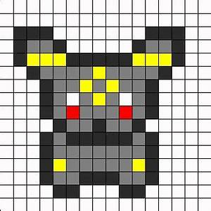 32 best images about eevee umbreon excmake patterns on With umbreon pixel art template