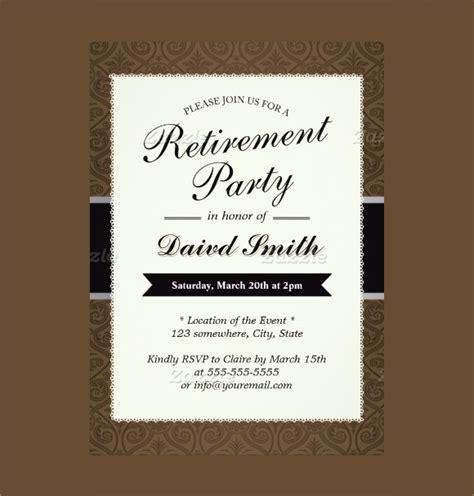 retirement party invitation  premium