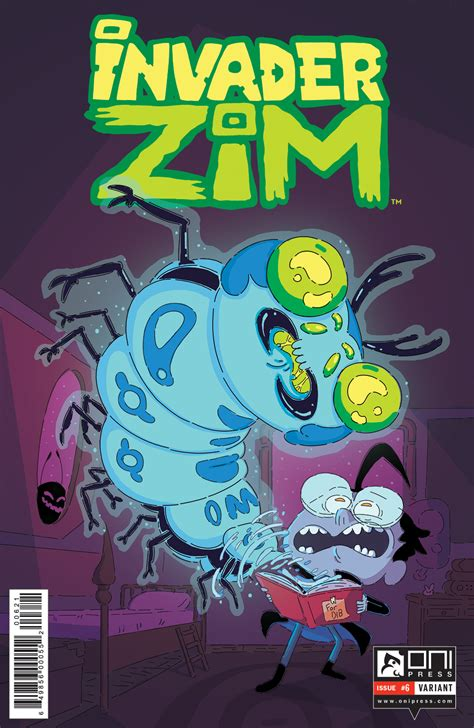 crate covers january 6th oni previews invader zim 6 letter 44 22