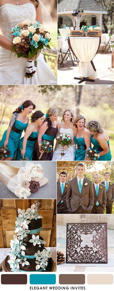 choose brown   wedding colors  season