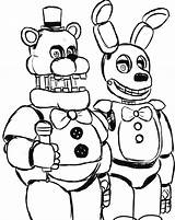 Freddy Fazbear Coloring Pages Getdrawings sketch template