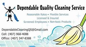 Business Card Examples For House Cleaning Images - Card