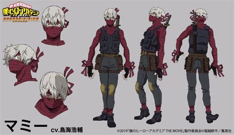hero academia heroes rising casts   villains