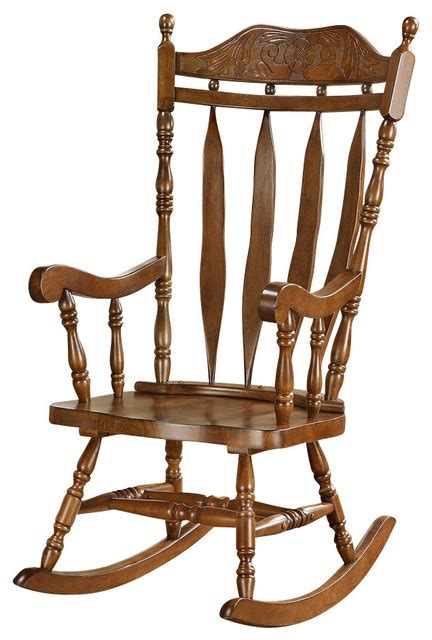 monarch specialties country arrowback rocking chair in