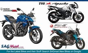 Comparison Suzuki Gixxer Vs Yamaha Fz Fi Vs Tvs Apache Rtr 160