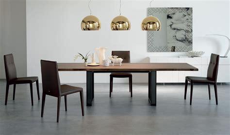 mesa de comedor extensible moderna sigma cattelan de lujo