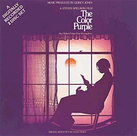 the color purple soundtrack 1985