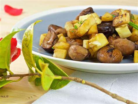 chataignes recettes cuisine recettes de châtaigne et cuisine vegane