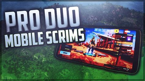 fortnite mobile pro duo scrim  full gameplay youtube