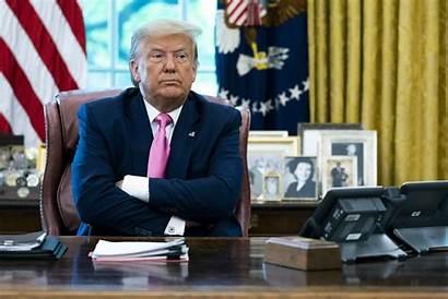 Trump Oval Office Donald President Health Desk