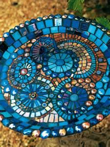 Deck Bird Bath by Mosaik Wie Geht Eigentlich Mosaik Legen News