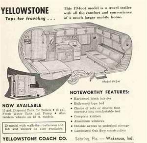1958 Yellowstone Camper