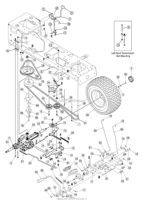 Troy Bilt Bronco Deck Belt by Mower Belt Diagram For Troy Bilt Bronco Toro Lawn Mower