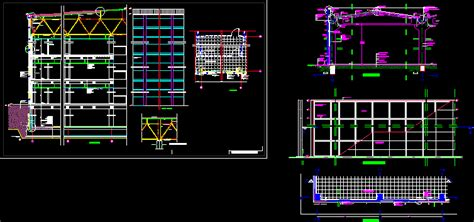 detail  steel frame dwg detail  autocad designs cad