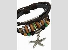 Braided Leather Bracelet, Leather Wrap Bracelet, Punk