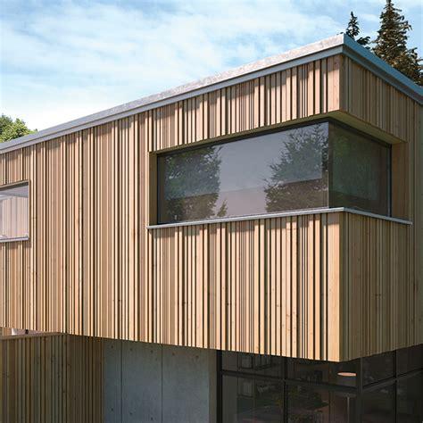 holzfassade   optik detail magazin fuer architektur