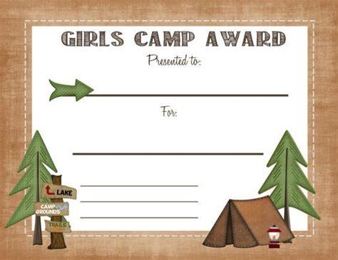 ideas  girls camp awards  pinterest camp