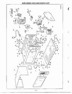 Exploded View  Parts List Diagram  U0026 Parts List For Model