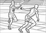 Track Field Coloring Pages Sports Printable Print Books sketch template